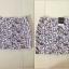 Topshop Heart Purple Black Skirt Size Uk10 thumbnail 3