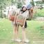 กระเป๋าเป้ยี่ห้อ Super Lover สไตล์หวานสีลูกอมดอกไม้น่ารัก ใบเล็ก (Pre-Order) thumbnail 4