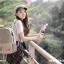 กระเป๋าเป้ยี่ห้อ Super Lover Mori ภาพวาดการ์ตูนน่ารักเกาหลี (Preorder) thumbnail 4