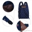 """กระเป๋าเป้สะพาย ยี่ห้อ Superlover สไตส์หญิงเกาหลี มีช่องใส่ Notebook14"""" และกระเป๋าเป้ใบเล็ก สีน้ำเงินดอกไม้ (Pre-Order) thumbnail 20"""