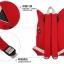 กระเป๋าเป้ยี่ห้อ Super Lover สาวญี่ปุ่นฮัน Xiaoqing ผ้าใบสีแดงน้องแมว (Preorder) thumbnail 8