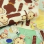 ผ้าสักหลาดเกาหลี ลายลิง size 1mm (Pre-order) ขนาด 45x30 cm thumbnail 16