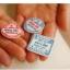 ผ้าสักหลาดเกาหลี stamp ขนาด 45x30 cm/ชิ้น (Pre-order) thumbnail 5