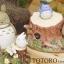 กล่องเพลงเซรามิก My Neighbor Totoro (โตโตโร่นั่งยิ้ม) thumbnail 3