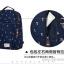 """กระเป๋าเป้สะพาย ยี่ห้อ Superlover สไตส์หญิงเกาหลี มีช่องใส่ Notebook14"""" และกระเป๋าเป้ใบเล็ก สีน้ำเงินดอกไม้ (Pre-Order) thumbnail 19"""