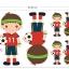 ผ้าสักหลาดเกาหลี jobboy size 1mm มี 7 แบบ ขนาด 45x30 cm/ชิ้น (Pre-order) thumbnail 6