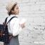 กระเป๋าเป้ยี่ห้อ Super Lover สาวญี่ปุ่นเกาหลีผ้าใบหญิงอังกฤษมินิศิลปะญี่ปุ่น (Preorder) thumbnail 4