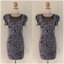 Lipsy Grey Leopard print dress Size uk10 thumbnail 1