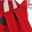 กระเป๋าเป้ยี่ห้อ Super Lover สาวญี่ปุ่นฮัน Xiaoqing ผ้าใบสีแดงน้องแมว (Preorder) thumbnail 10
