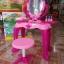 โต๊ะเครื่องแป้งเจ้าหญิงพร้อมเก้าอี้ครบชุด thumbnail 1
