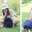 กระเป๋าเป้ยี่ห้อ Super Lover 2015 new summer bag small canvas embroidered mini cute 2 Color (Preorder) thumbnail 11