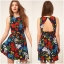 ASOS Flower Dress Size Uk10 thumbnail 2