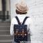 กระเป๋าเป้ยี่ห้อ Super Lover สาวญี่ปุ่นเกาหลีผ้าใบหญิงอังกฤษมินิศิลปะญี่ปุ่น (Preorder) thumbnail 1