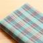 ผ้าคอตต้อนเกาหลี ลายตาราง Hershey ผ้าฝ้าย 100% 30s ตัดขายขนาด 110x90 cm thumbnail 1
