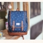 """กระเป๋าเป้สะพาย ยี่ห้อ Superlover สไตส์ญี่ปุ่น มีช่องใส่ Notebook14"""" สีน้ำเงินดอกไม้ (Pre-Order) thumbnail 6"""