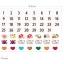 ผ้าสักหลาดเกาหลี Day size 1mm ขนาด 30x20 cm/ชิ้น (Pre-order) thumbnail 9