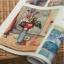 ผ้าสักหลาดเกาหลี ลายภาพวาด pelteuji size 1mm (Pre-order) ขนาด 45x30 cm thumbnail 4
