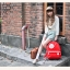 กระเป๋าเป้สะพาย ยี่ห้อ Superlover หญิงญี่ปุ่น มีช่องใส่ note book ได้ค่ะมี 2 สี แดง ครีม (Pre-Order) thumbnail 8