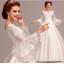 (Pre-Order) ชุดแต่งงาน <แขนยาว> รหัส WDL0205 thumbnail 1