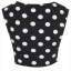 Topshop dots crop top Size uk10 thumbnail 5