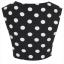 Topshop dots crop top Size uk10 thumbnail 5