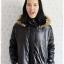 ((ขายแล้วครับ))((คุณNingจองครับ))ca-2554 เสื้อโค้ทกันหนาวผ้าร่มสีดำ รอบอก46 thumbnail 1