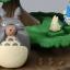 กล่องเพลงนาฬิกา My Neighbor Totoro Karakuri Clock thumbnail 3