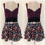 Topshop Floral Skirt Size Uk8 thumbnail 1