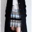 ((ขายแล้วครับ))((คุณสรรสจองครับ))ca-2685 เสื้อโค้ทกันหนาวผ้าวูลสีดำ รอบอก37 thumbnail 3