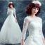 (Pre-Order) ชุดแต่งงาน <แขนยาว> รหัสสินค้า WDL0437 thumbnail 1