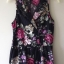 Playsuit Rose Floral Topshop Uk12 thumbnail 2