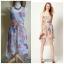 Warehouse Barearic print Dress Size uk8-10 thumbnail 1