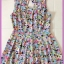 Miss selfridge Floral Playsuit Size Uk12 thumbnail 1