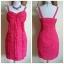 Lipsy Gathered Frill Front Dress Size uk10 thumbnail 1