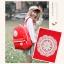 กระเป๋าเป้สะพาย ยี่ห้อ Superlover หญิงญี่ปุ่น มีช่องใส่ note book ได้ค่ะมี 2 สี แดง ครีม (Pre-Order) thumbnail 10