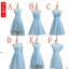 (Pre-Order) ชุดราตรี <สีฟ้า> รหัส SEVS0005 thumbnail 1