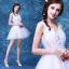 (Pre-Order) ชุดแต่งงาน <สายเดี่ยว> รหัสสินค้า WDS0122 thumbnail 1