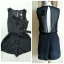 Miss Selfridge Black Chiffon Playsuit Size uk8 thumbnail 1