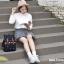 กระเป๋าเป้ยี่ห้อ Super Lover สาวญี่ปุ่นเกาหลีผ้าใบหญิงอังกฤษมินิศิลปะญี่ปุ่น (Preorder) thumbnail 7
