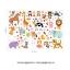 ผ้าสักหลาดเกาหลี zoo size 1mm ขนาด 45x30 cm/ชิ้น (Pre-order) thumbnail 5