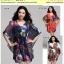 Preorder ชุดเดรสผ้าชีฟองไซส์ใหญ่ 2XL-4XL thumbnail 1