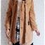((ขายแล้วครับ))((คุณDAจองครับ))ca-2684 เสื้อโค้ทกันหนาวผ้าวูลสีไขไก่ รอบอก36 thumbnail 3