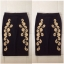 Rare london Foil Print Pencil Skirt Size Uk10 thumbnail 2