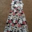 Topshop Laura Lees Embroidered Floral Dress size Uk 8- uk10 thumbnail 4