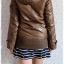 ((คุณohiaumจองครับ)) ca-2549 เสื้อโค้ทกันหนาวผ้าร่มสีน้ำตาลขี้ม้า รอบอก38 thumbnail 2