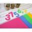 ผ้าสักหลาดเกาหลี Number มี 4 สี เบอร์ 823/830/853/866 size 1mm ขนาด 45x30 cm/ชิ้น (Pre-order) thumbnail 1