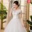 (Pre-Order) ชุดแต่งงาน <ไหล่ปาด> รหัสสินค้า SWDL0444 thumbnail 1