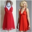 Lipsy Red Dress Uk10 thumbnail 2