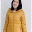 ((ขายแล้วครับ))((คุณYorจองครับ))ca-2611 เสื้อโค้ทกันหนาวผ้าร่มสีเหลืองมัสตาร์ด รอบอก37 thumbnail 1