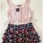 Topshop Floral Skirt Size Uk8 thumbnail 4